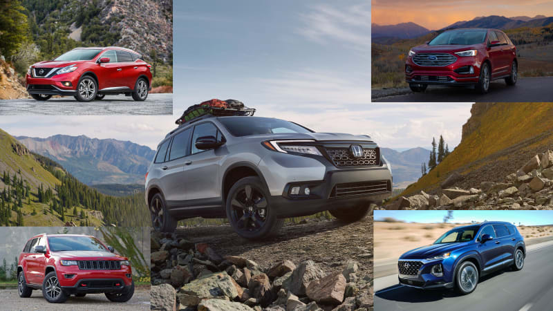 2019 Honda Passport comparison
