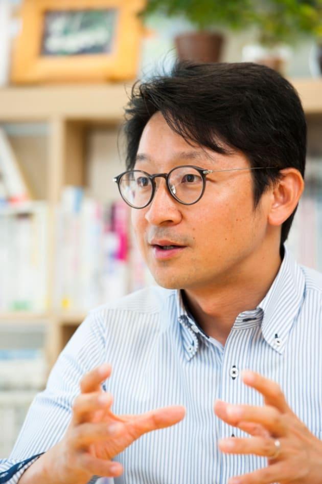 日本トイレ研究所の加藤篤代表理事