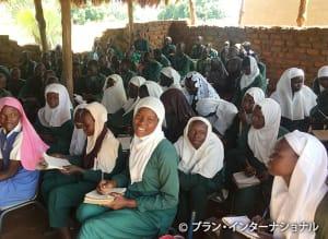 ムスリム人口が多いユンベ県の小学校