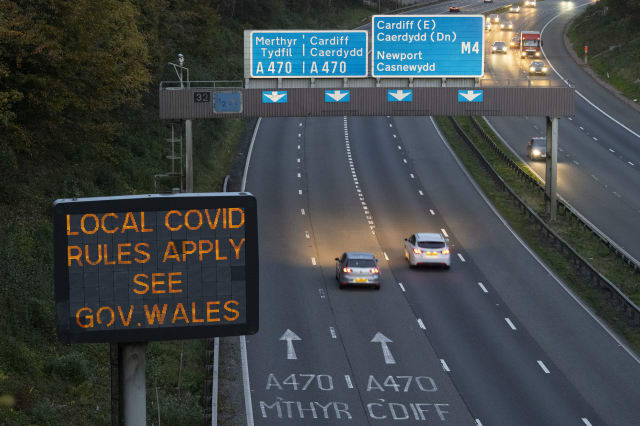 Wales To Ban Travel From Covid-19 Hotspots Elsewhere In UK