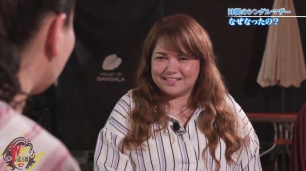 シングルマザーの新垣千恵さん
