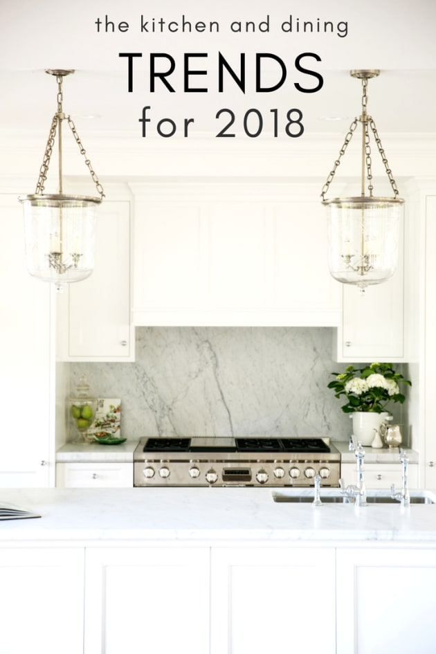 The kitchen and dining trends to look out for in 2018 for Pool design trends 2018