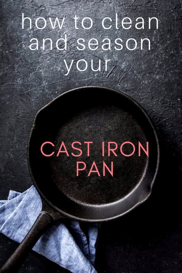 How to clean and season a cast iron pan getty malvernweather Choice Image
