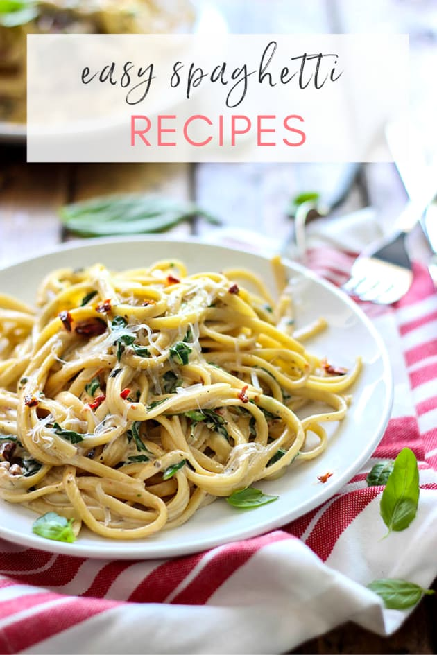 7 easy spaghetti recipes everyone should know about. Black Bedroom Furniture Sets. Home Design Ideas