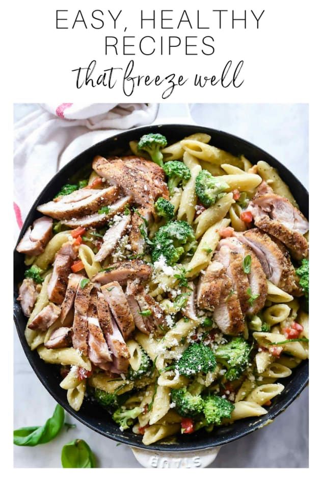 7 easy healthy recipes that freeze well foodie crush forumfinder Choice Image