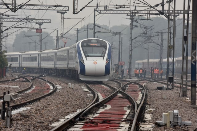 PM Narendra Modi Flags Off Vande Bharat Express, India's First Semi-High Speed Train