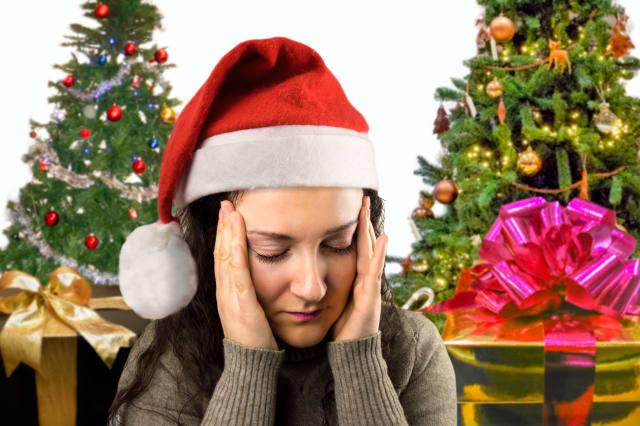 Christmas gives me a headache