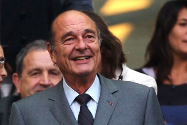 Former President of France Jacques Chirac, 86, dies