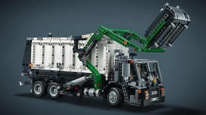 Mack Anthem semi-truck is much more managable in Lego form | Autoblog