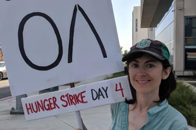 The OA hunger strike