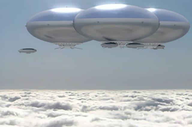 NASA envisions a floating city above Venus