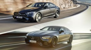 Mercedes CLS vs GT 4 Door