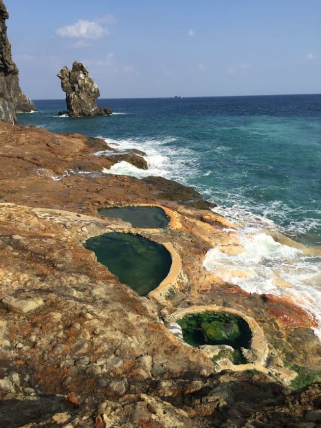 薩摩硫黄島の「東温泉」