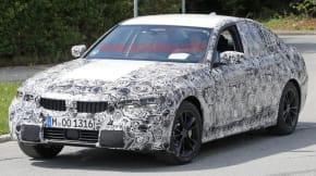 BMW 3 Series spy shot