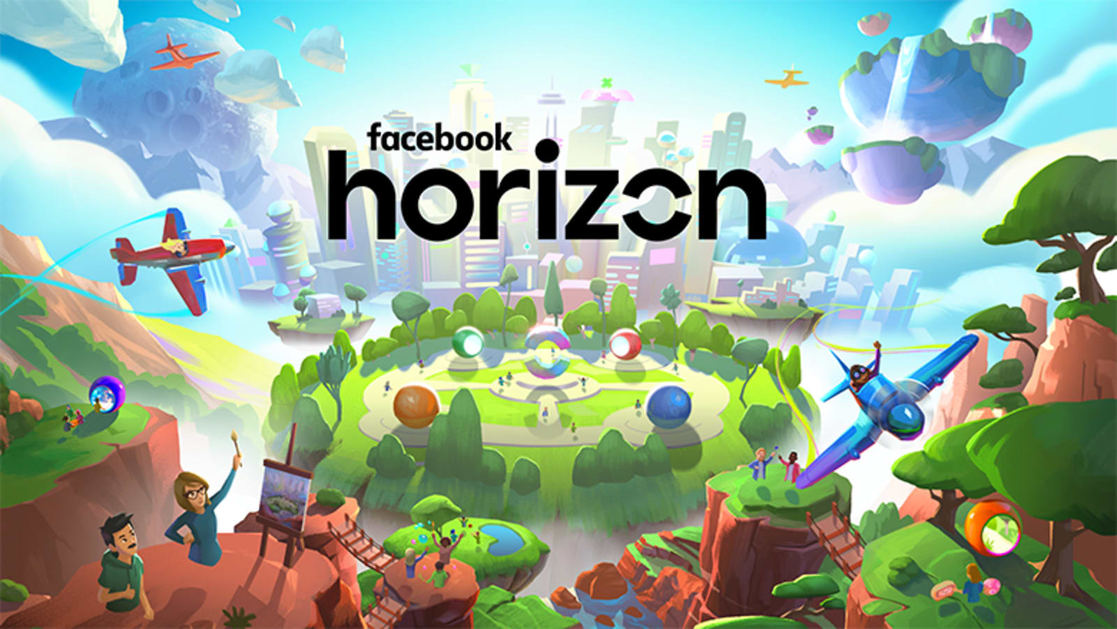 Best Oculus Rift Games 2020.Social Vr World Facebook Horizon Comes To Oculus In 2020