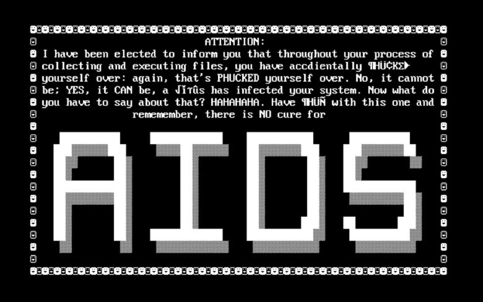 AIDS trojan