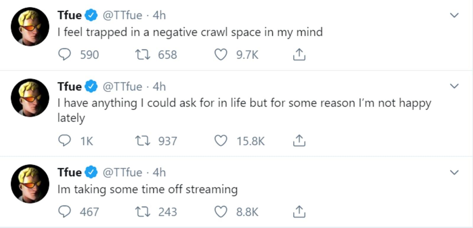 Tfue on Twitter