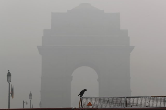 India's smog-bound capital suffers most hazardous air so far this year