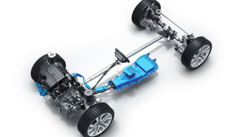 2020 Land Rover Range Rover Evoque powertrain