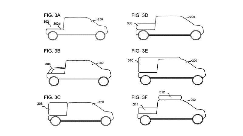 Rivian R1T Modular Pickup Beds