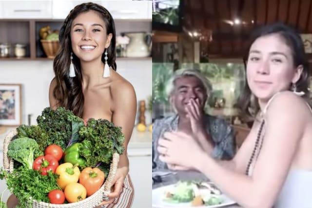 Vegan food blogger
