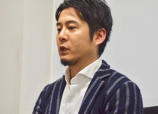 インタビューに応じたマクアケ代表・中山亮太郎氏