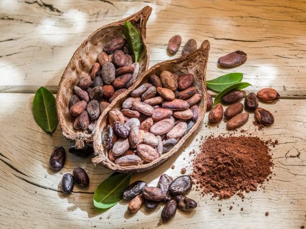 El cacao es una fuente 20 veces mayor que los arándanos en antioxidantes.