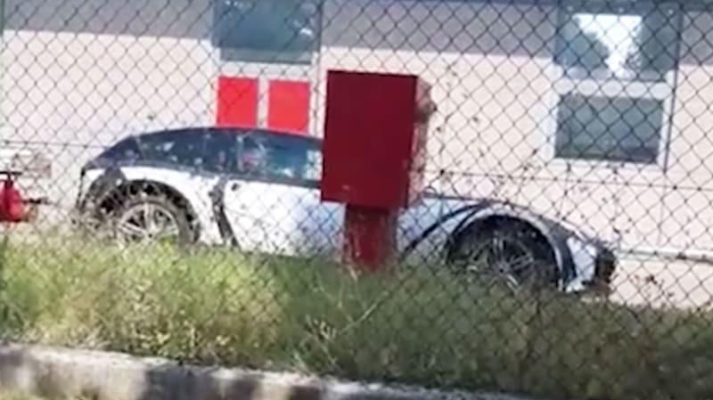 Ferrari SUV Purosangue mule spied
