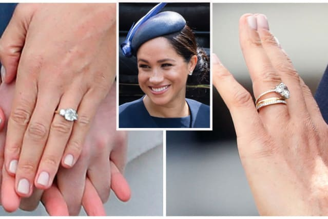 14++ Meghan Markle Wedding Ring Change