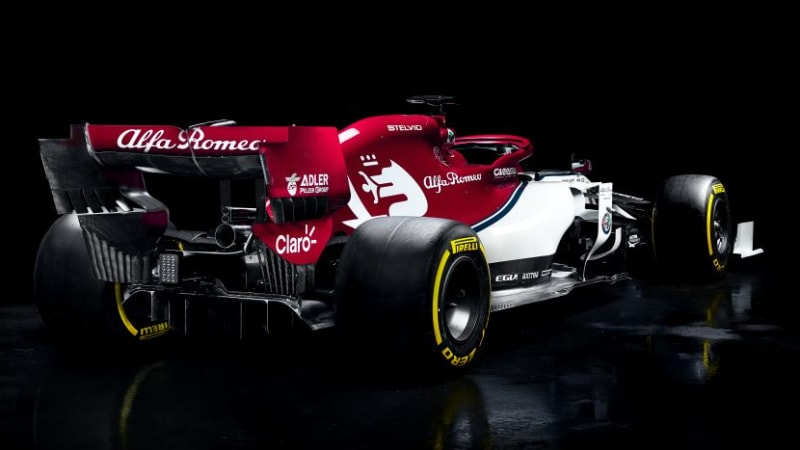 Alfa Romeo unveils Formula One car for new season