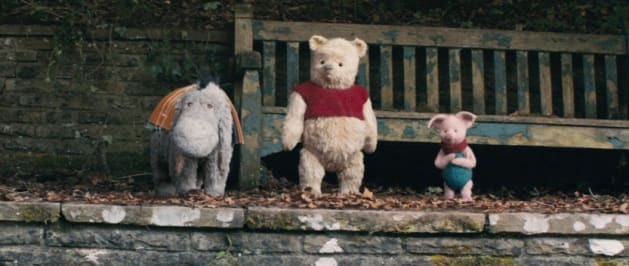 """How can you not love Eeyore, Pooh and Piglet in Disney's live-action adventure """"Christopher Robin?"""""""