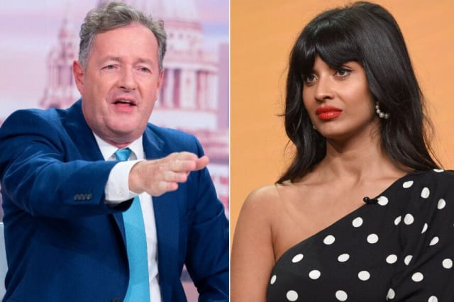 Piers Morgan Labels Jameela Jamil A 'Virtue-Signalling Twerp' After Actress Accuses England Of Racism Over Meghan Markle