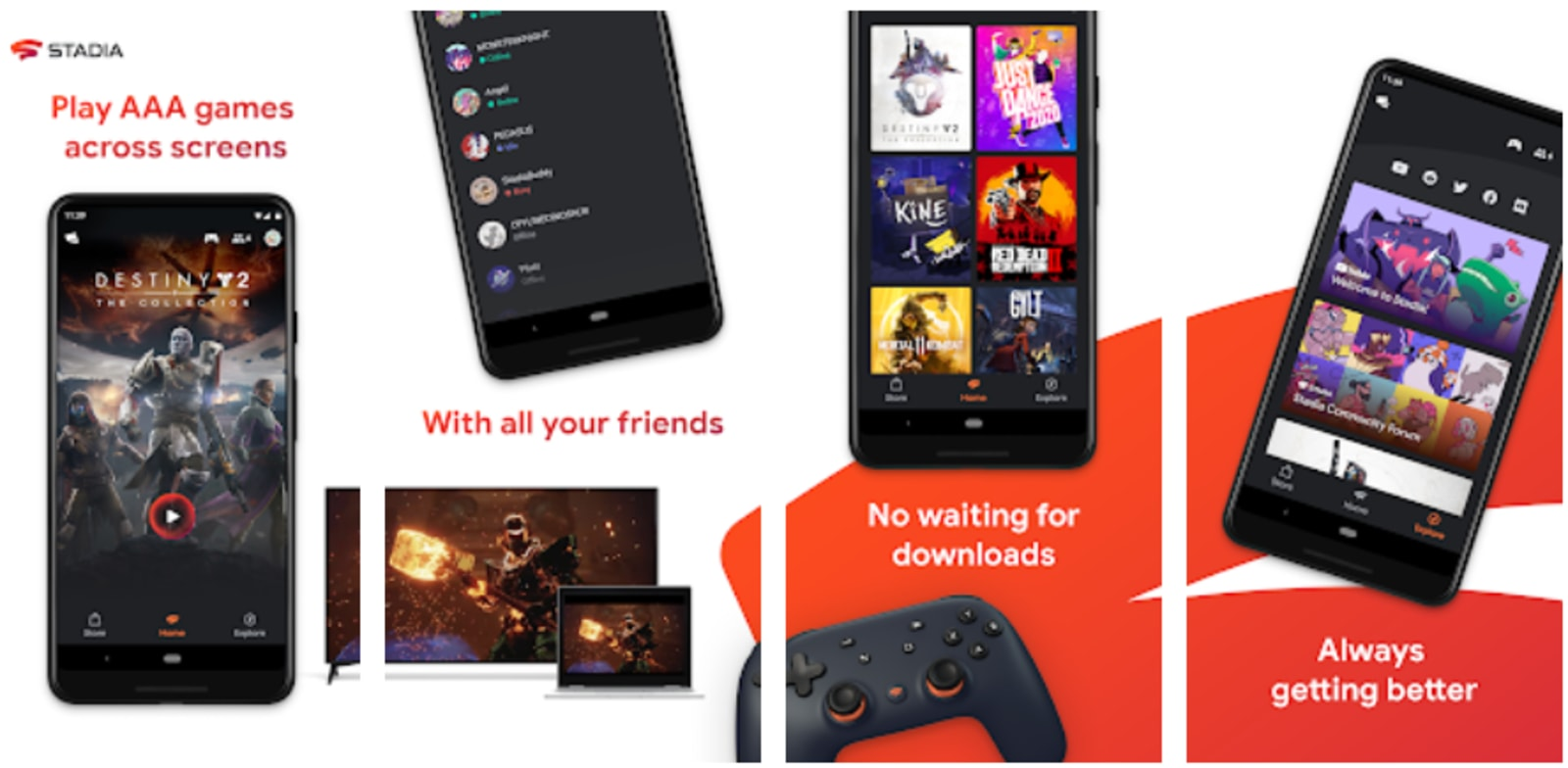 Stadia hits Google's Play Store ahead of its debut this month