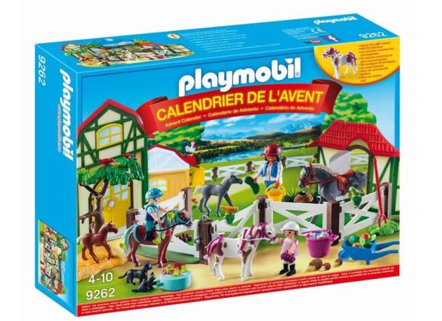 3 Playmobil Horse Farm