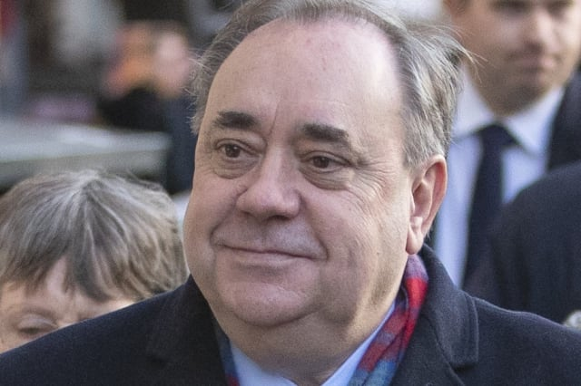 Salmond appears in court on attempted rape and sexual assault charges