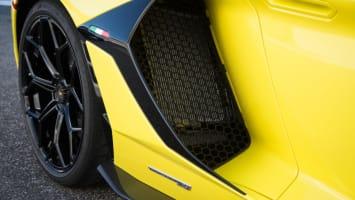 2019 Lamborghini Aventador SVJ air intake