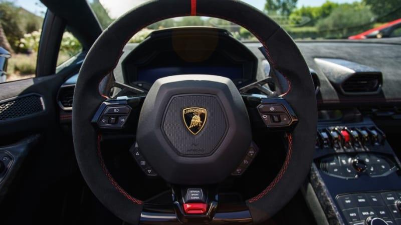 2018 Lamborghini Huracan Performante Spyder Road Test Review Autoblog