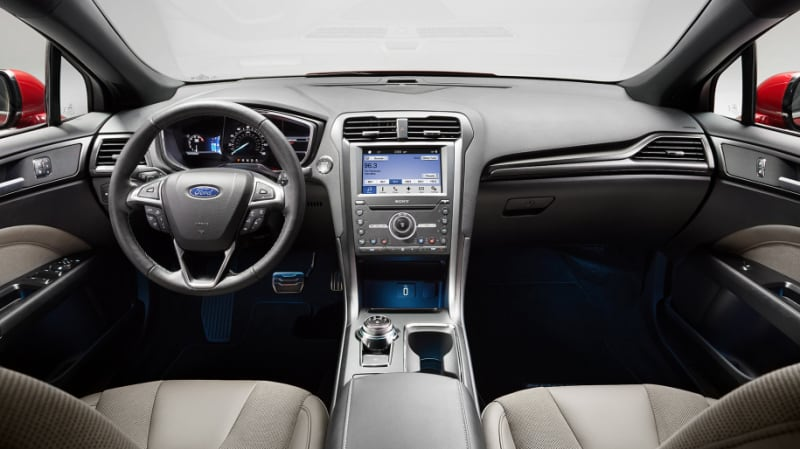 Fusion Brings A Handsome New Interior For 2017 One That Includes Exceptional Materials