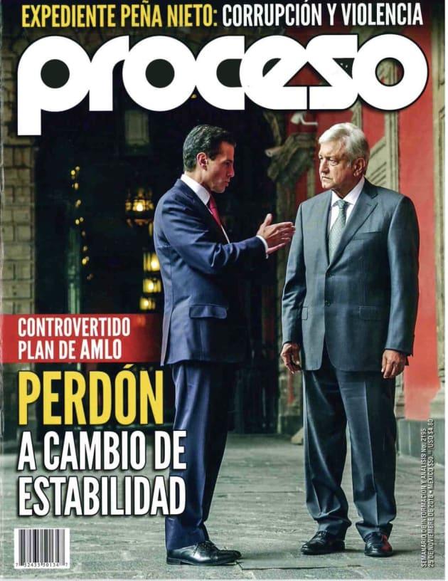 La nueva bomba de Proceso: AMLO pactó con Videgaray darle amnistía a