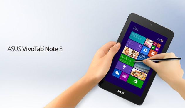 2014年:ワコム製デジタイザーを搭載した8インチタブレット「VivoTab Note 8」(M80TA-DL64S)