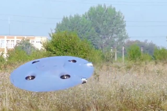 This real-life flying saucer may change flight forever