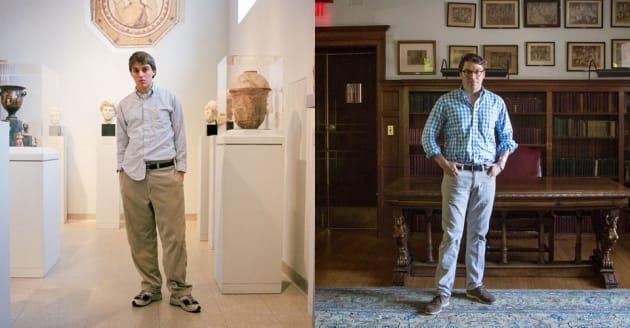 イーサン。2000年と2017年。