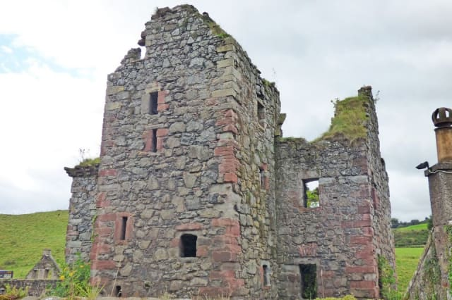The ruined castle