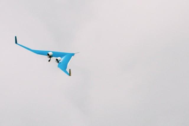 Flying V test 2