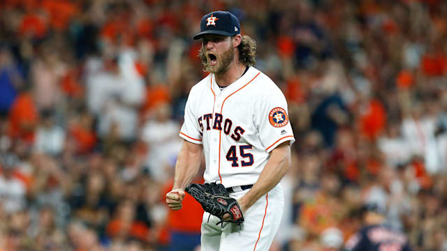 Cole helps Astros take 2-0 ALDS lead - AOL