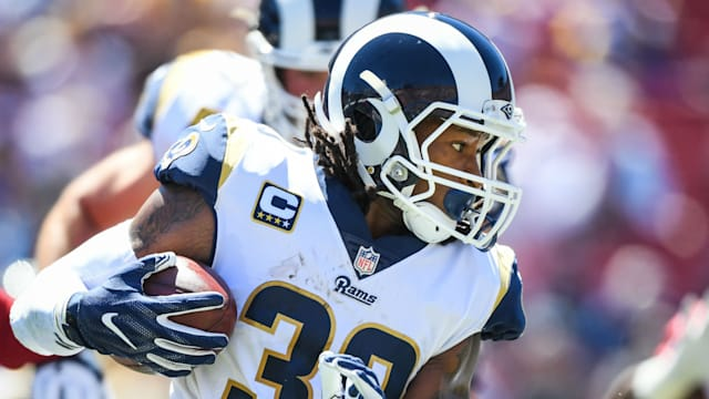 Sean McVay is confident Todd Gurley will be 100 per cent fit when the Los  Angeles Rams face the New England Patriots in the Super Bowl on Sunday. f14232d10