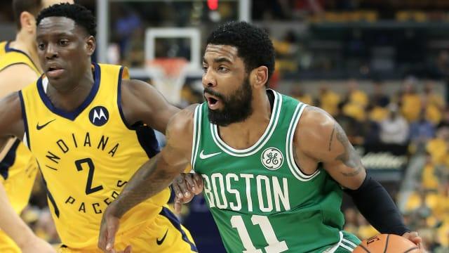 7628e99b8 NBA playoffs 2019  Celtics sweep Pacers to advance to semi-finals - AOL