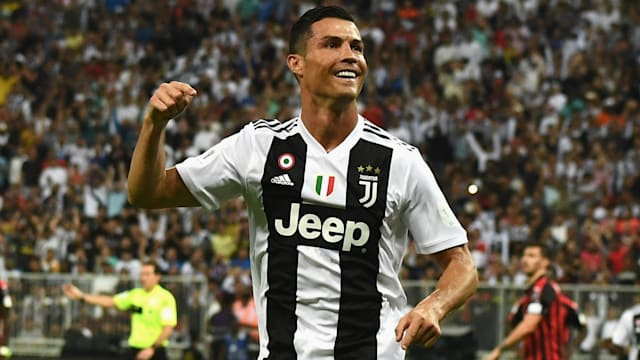548c409b1 Cristiano Ronaldo s goal proved decisive as Juventus defeated 10-man AC  Milan 1-0 to win the Supercoppa Italiana in Jeddah.