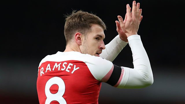 c0fbaa87e96 PSG on a free, join Ronaldo at Juventus or Bale in Madrid? Assessing Aaron  Ramsey's options