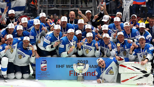 Finland Edge Canada To Clinch Third World Title Aol